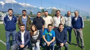 Acht neue Kollegen starten Karriere