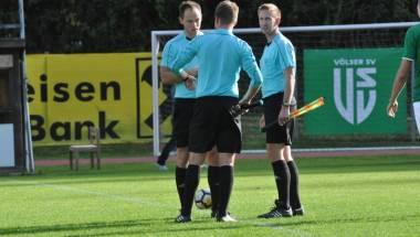 Bayrische Schiedsrichter im Doppeleinsatz