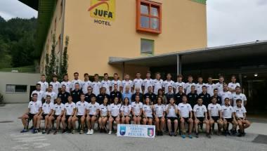 Trainingslager der Schiedsrichter aus Pescara in Tirol