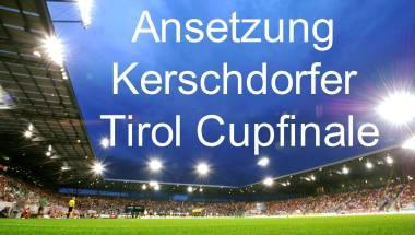 Schiedsrichterteams Cupfinali 2019