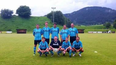 Spiel gegen die Schiedsrichtergruppe Ostallgäu