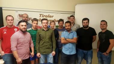 10 Teilnehmer beim Herbstkurs 2017