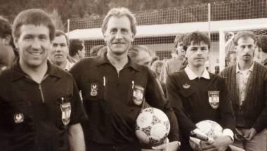 """1. Tiroler Fußball Schiedsrichter Stammtisch """"Hoangascht"""""""